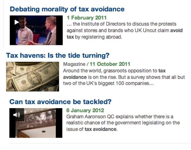 BBC tax
