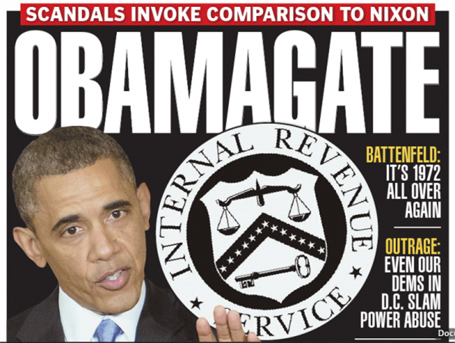 Boston Herald ObamaGate copy ObamaGate: How Obama became Tricky Dicky Nixon