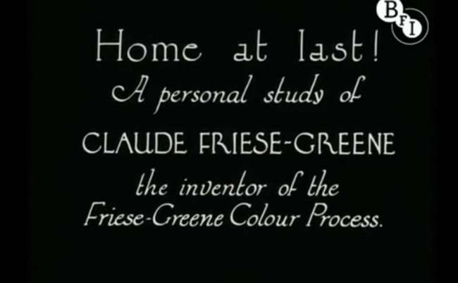 Claude Friese Greene lead Colour film of London in 1927   rare video and photos