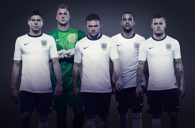 England1 A history of Englands football kits: from Umbro through Admiral to Nike