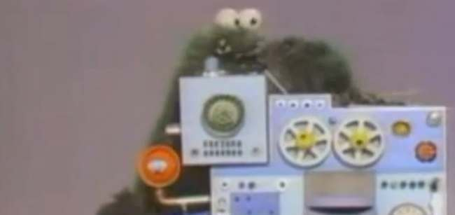 IMB Muppet In 1967 The Muppets worked as IBM instructors (video)