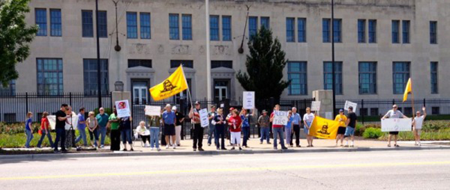 IRS kansas In photos: The anti IRS Tea Party protests