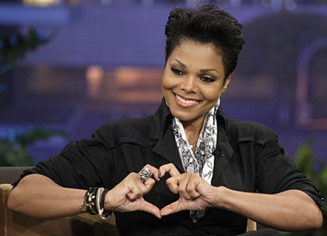Janet Jackson 10 famous people and good causes Spurs Gareth Bale can sue when he owns the love heart hand gesture