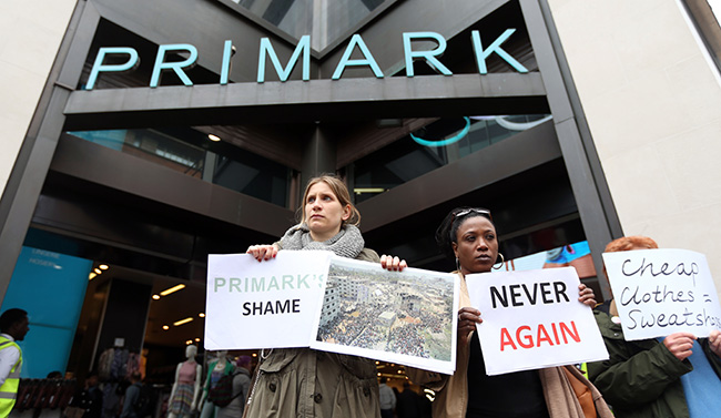 PA 16381442 Primark boasted that it audited its factories before the Savar factory disaster