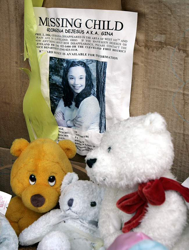 PA 16450264 The Amanda Berry, Gina DeJesus and Michelle Knight story in photos and timeline
