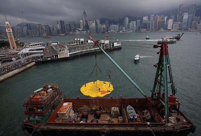 Hong Kong Rubber Duck