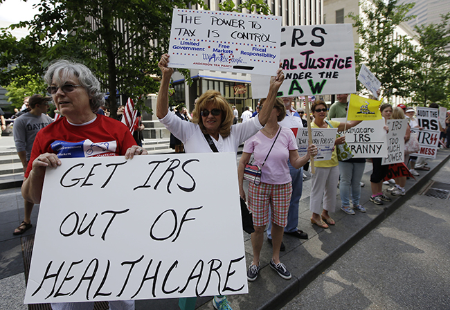 PA 16585545 In photos: The anti IRS Tea Party protests