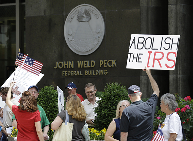 PA 16585550 In photos: The anti IRS Tea Party protests