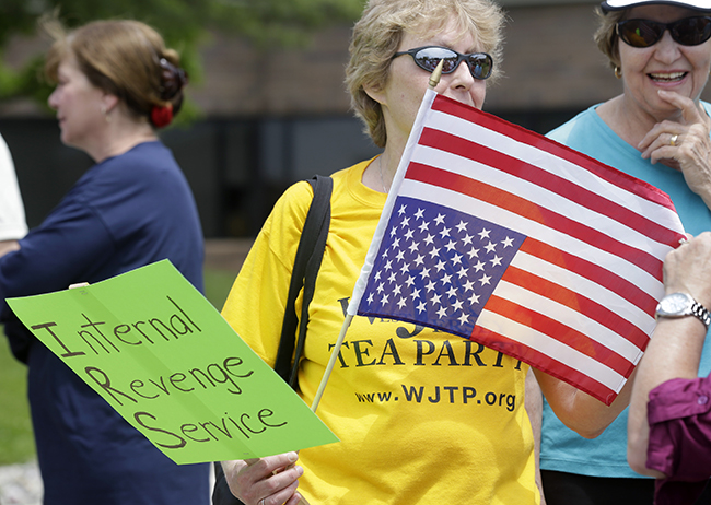 PA 16585756 In photos: The anti IRS Tea Party protests