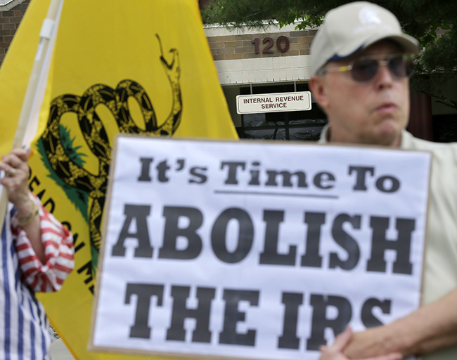 PA 16585758 In photos: The anti IRS Tea Party protests