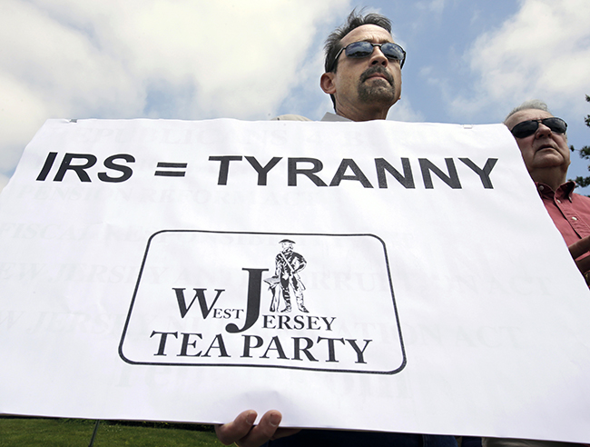 PA 16585759 In photos: The anti IRS Tea Party protests