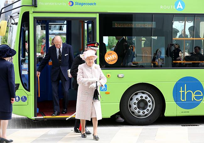 Royal visit to Cambridge