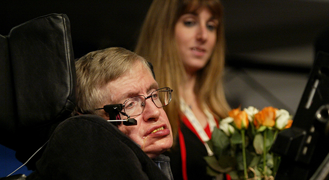 PA 42300011 On Israel, apartheid and Steven Hawkings boycott for anything but peace