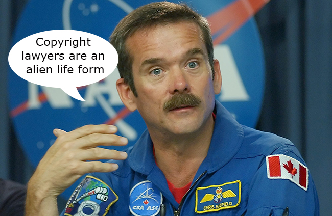 NASA Undersea Mission Hadfield