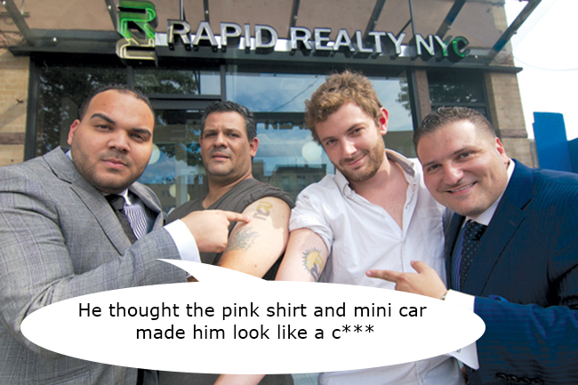 Rapid-Realty tattoo copy