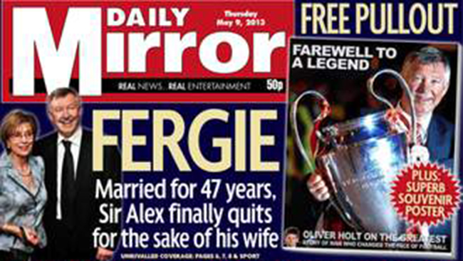 alex ferguson  Revealed: why Alex Ferguson really quit Manchester United