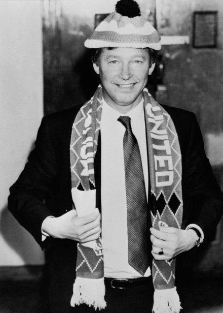Alex Ferguson/Man Utd/1986