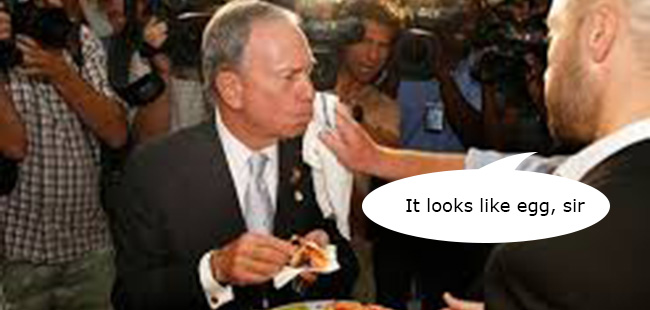 bloomberg pizza No pizza for you: Antonio Benito bans Mayor Bloomberg from eating second slice of pizza