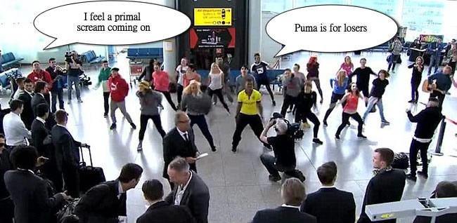 borussia dortmund flashmob puma