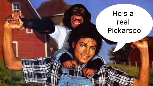 bubbles art copy Dear Artists: Michael Jacksons chimp is making more money than you as a painter