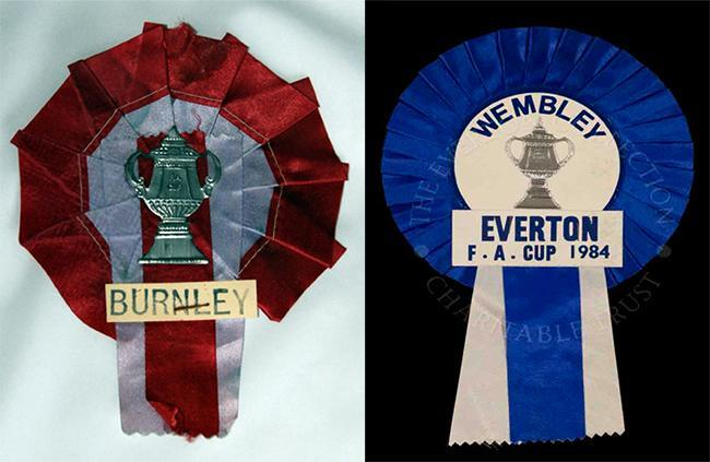 burley FA cup final The top ten FA Cup Final Songs ever (plus rosettes, goal action flick books and Super 8 films)