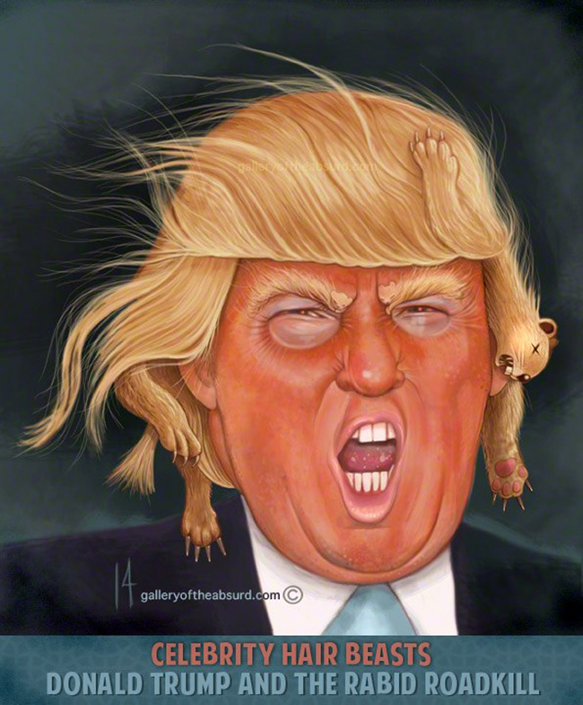 celebrity hair beasts trump