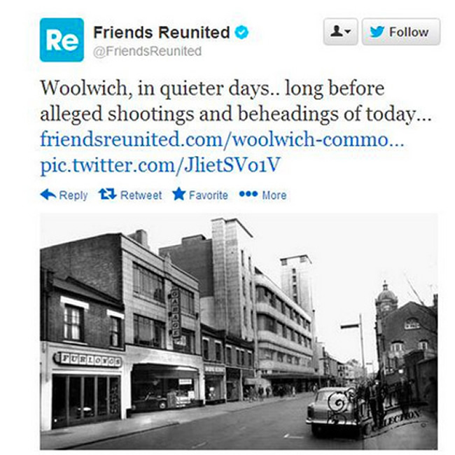 freinds reunited woolwich