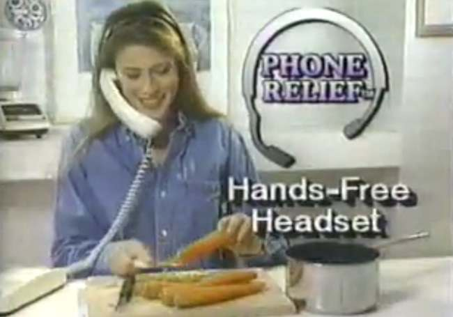 hands free phone relief  Things that existed: the Phone Relief Ultimate Hands Free Headset