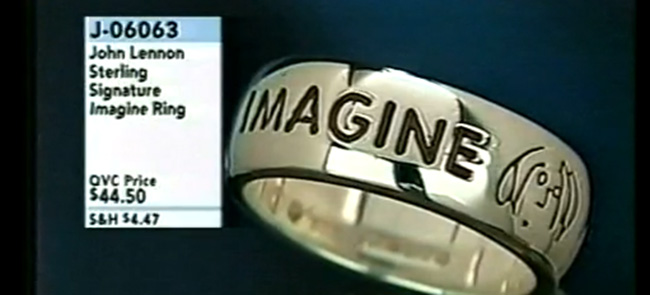 imagine john lennon jewelry