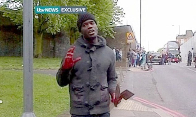 killer 1 Happy slapping terrorism in Woolwich   bloody lunatics murder man in cold blood for kicks