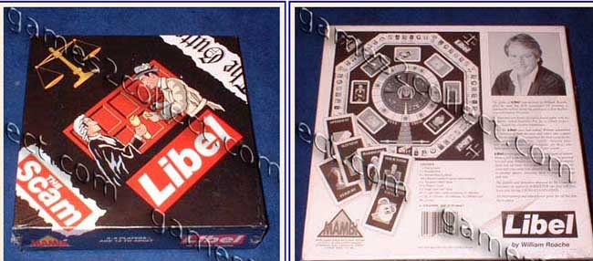 libel game bill roache Bill Roache once created this boardgame called LIBEL