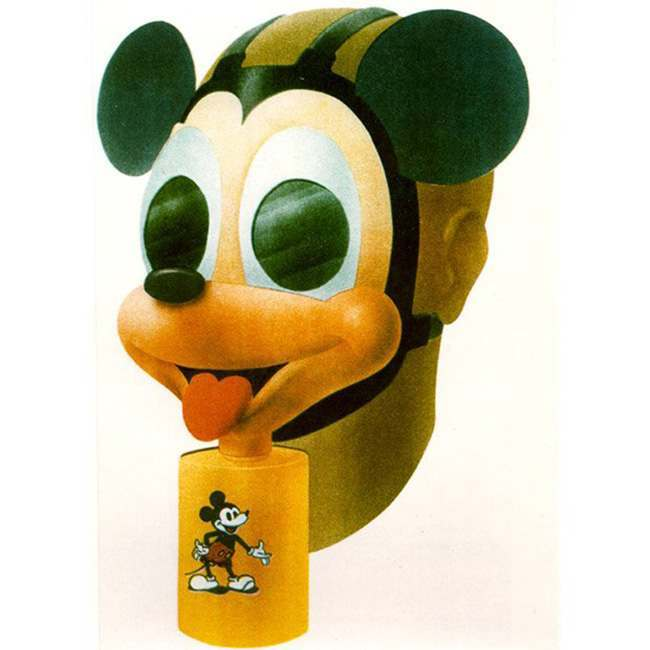 mickey mouse gas mask The Mickey Mouse gasmask was utterly terrifying in 1942   and it still is