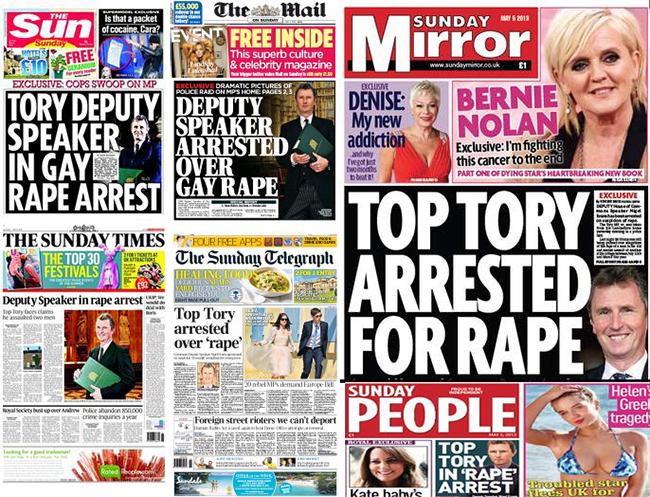 nigel evans rape Nigel Evans: Deputy speakers arrest laced with whiff of homophobia