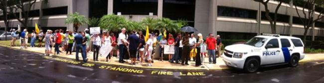 orlando irs 1 In photos: The anti IRS Tea Party protests