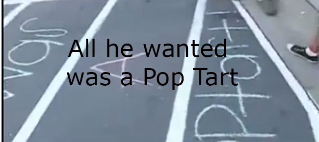 pop tart thief