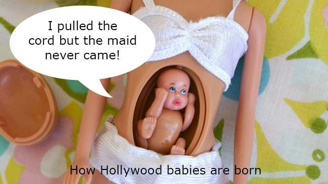 pregnant barbie spring copy Toys: in 1992, Barbies sister Judith gave birth to a spring loaded baby