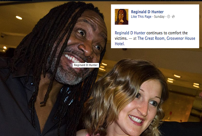 reginald d hunter pfa 14