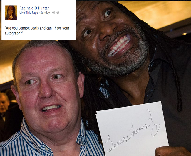 reginald d hunter pfa 19