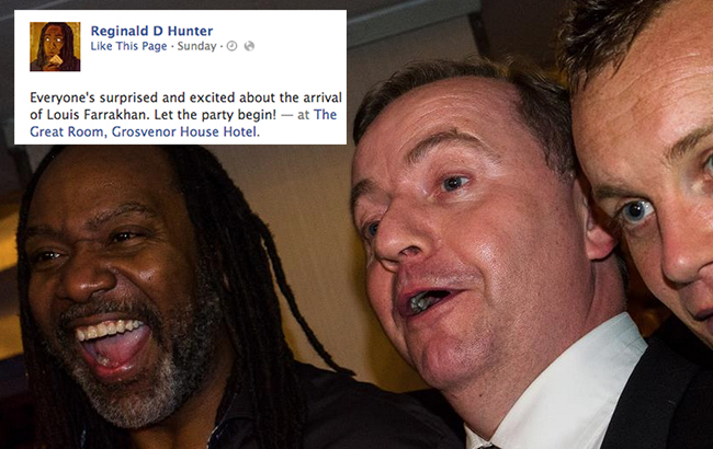 reginald d hunter pfa 21