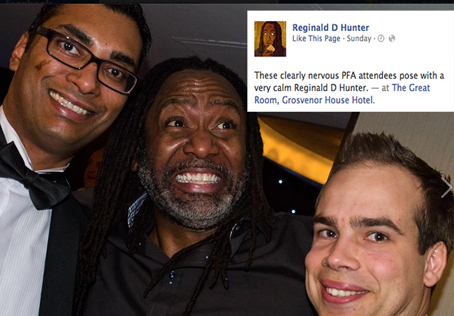 reginald d hunter pfa 23