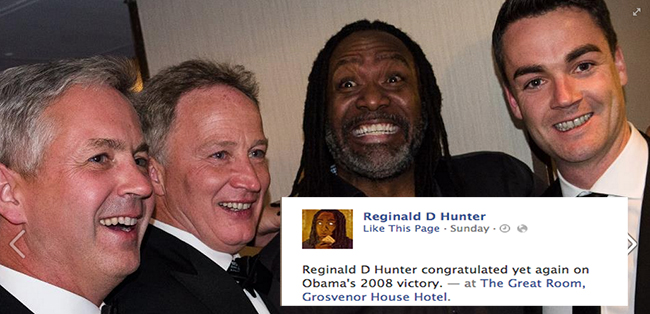 reginald d hunter pfa 4