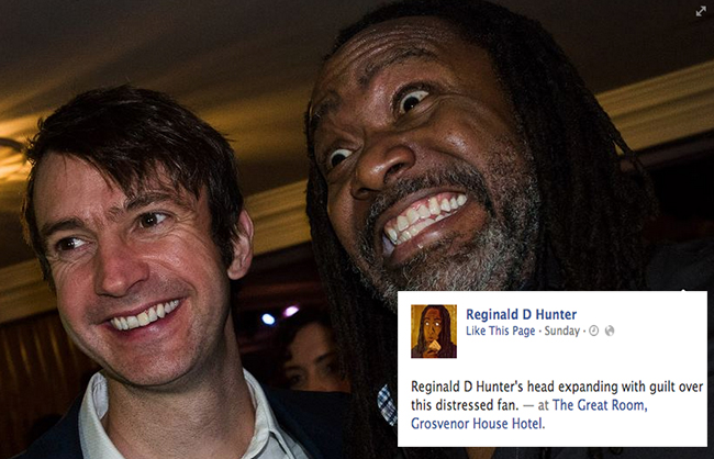 reginald d hunter pfa 9