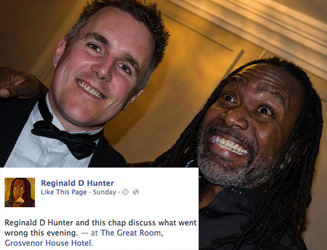 reginald d hunter pfa