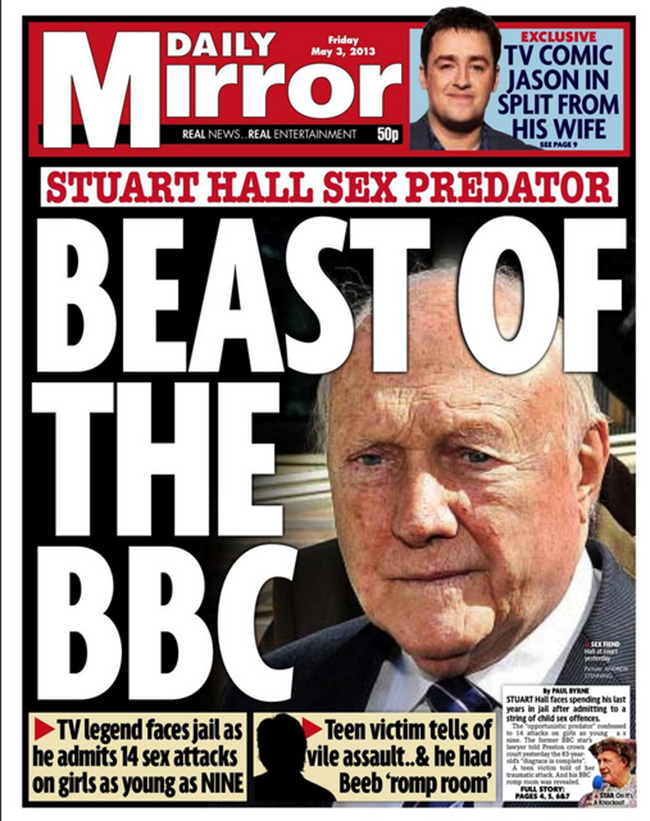 staurt hall beast Stuart Hall: the newspapers and the victims speak out on the BBCs pet pervert