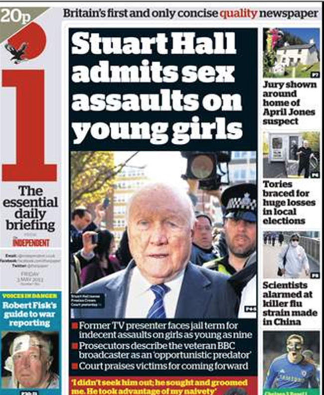 stuart hall girls Stuart Hall: the newspapers and the victims speak out on the BBCs pet pervert