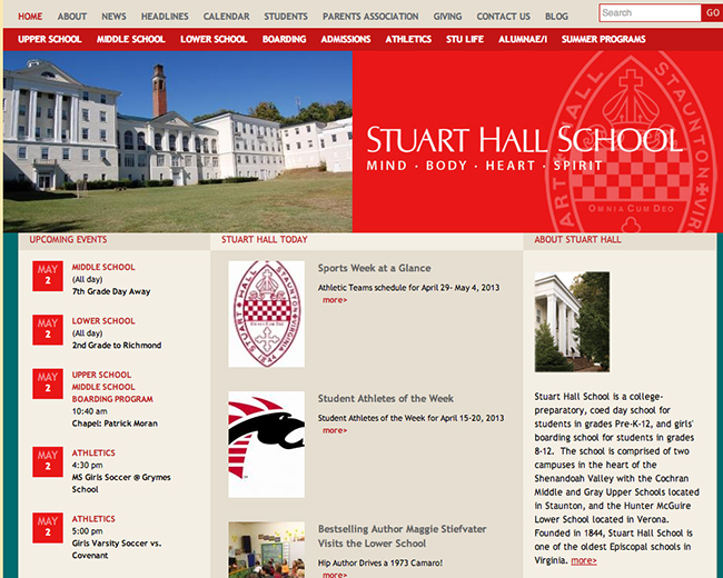 stuart hall school Will Stuart Hall school have to change its name?