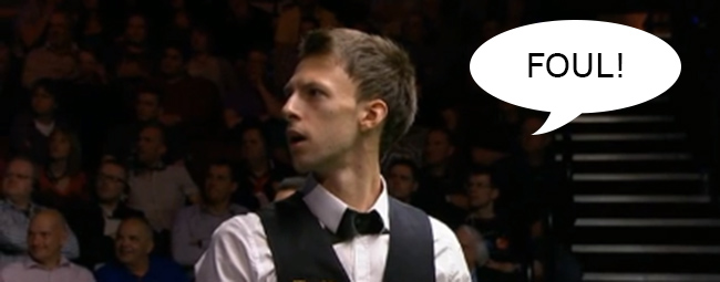 trump snbooker fart copy Ronnie OSullivan match interrupted by farting fan
