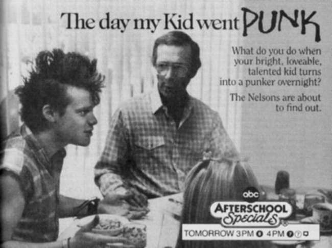 vintage TV kid went punk The Day My Kid Went Punk: a punksploitation special