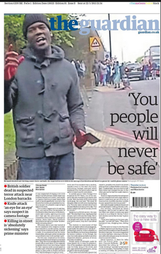 Woolwich Murder, The Guardian