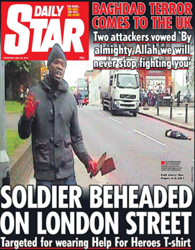 woolwich murder 4 Woolwich murderer was arrested on his way to join al Shabaab in Somalia: the front pages